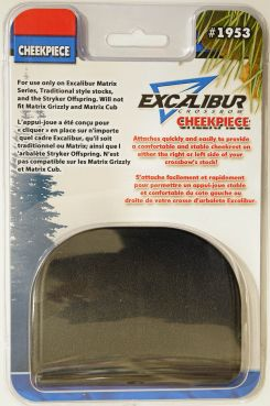 Excalibur CheekPiece Matrix black (3033)